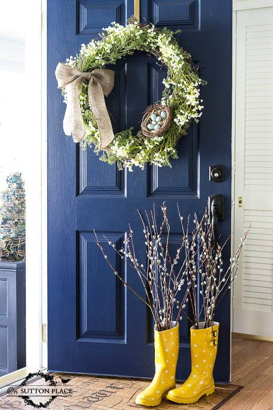 door studio wreaths magnolia mcgee decor front wreath studioblog