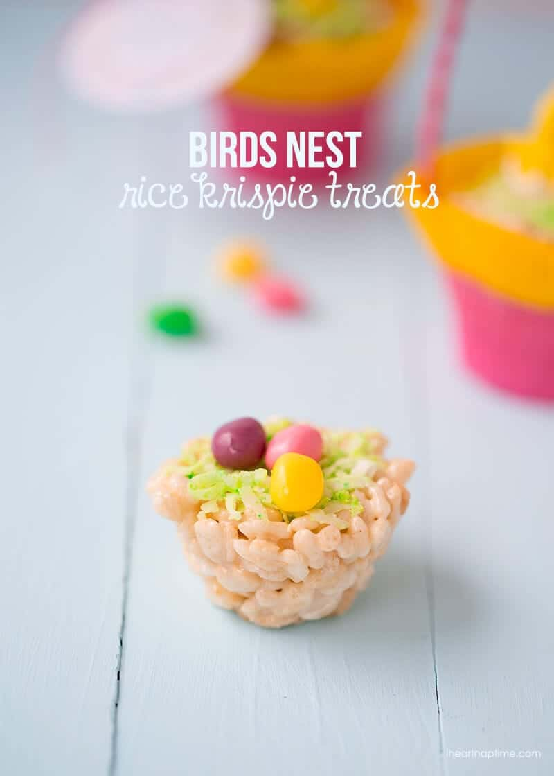 Birds-nest-rice-krispie-treats
