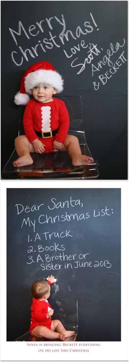 50 Creative Ways to Announce youre Pregnant I Heart Nap Time – Cute Christmas Baby Announcements