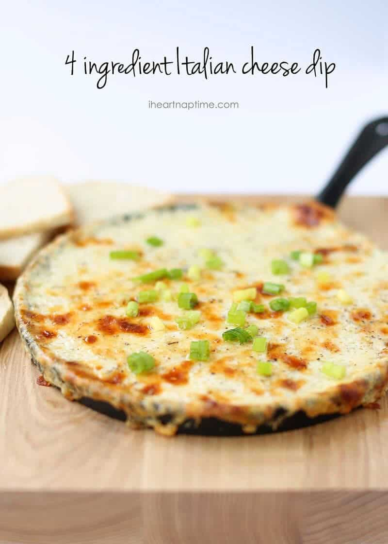 Smoked Italian Cheese Dip -so easy to make and absolutely delicious!