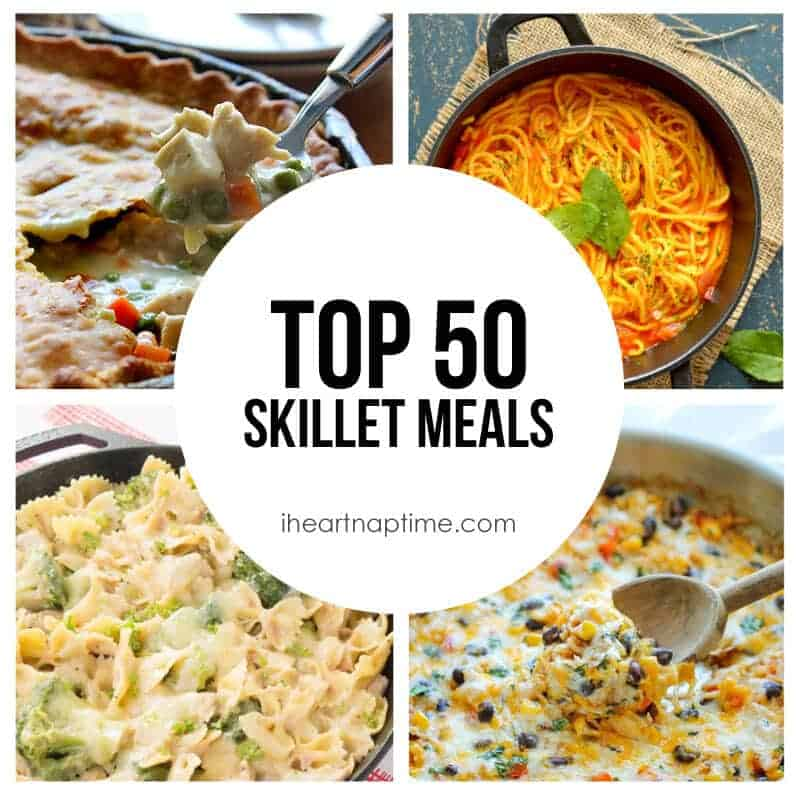 Top 50 Skillet Meals(featured)