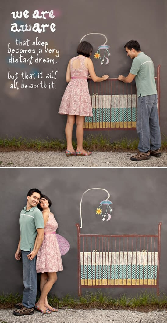 50 Creative Ways to Announce youre Pregnant I Heart Nap Time – Surprise Baby Announcement Ideas