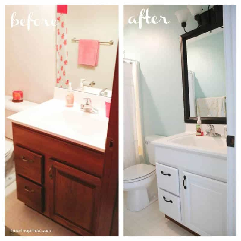 Images Bathrooms Makeovers: Bathroom Makeover + Free Printable