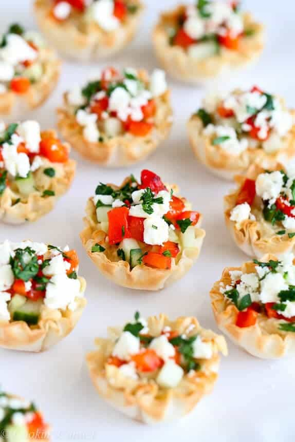 Top 50 appetizers at I Heart Naptime