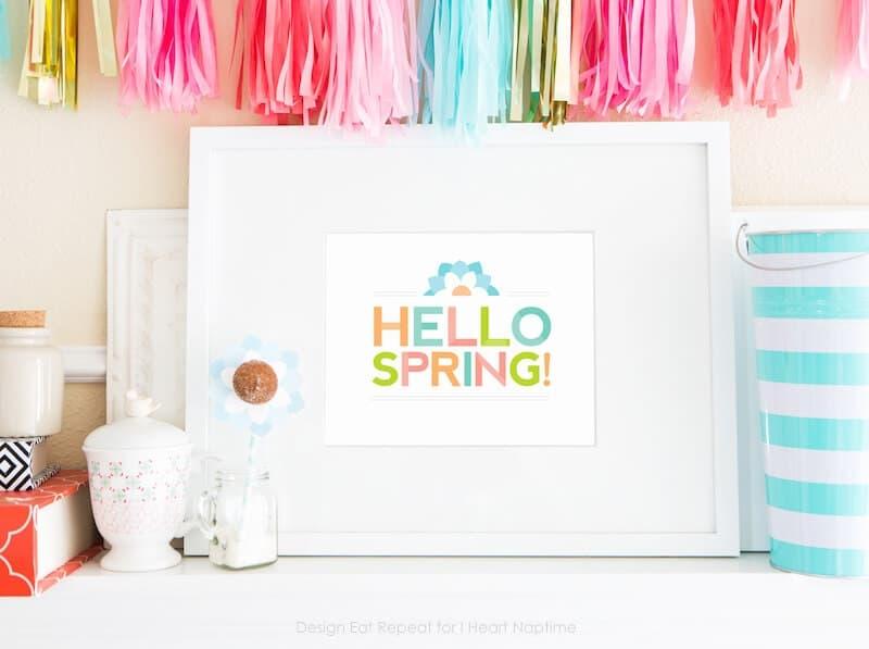 Good Free Printable Spring Wall Art