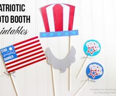 Patriotic Photo Booth Printables