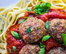Pepperoni Meatballs