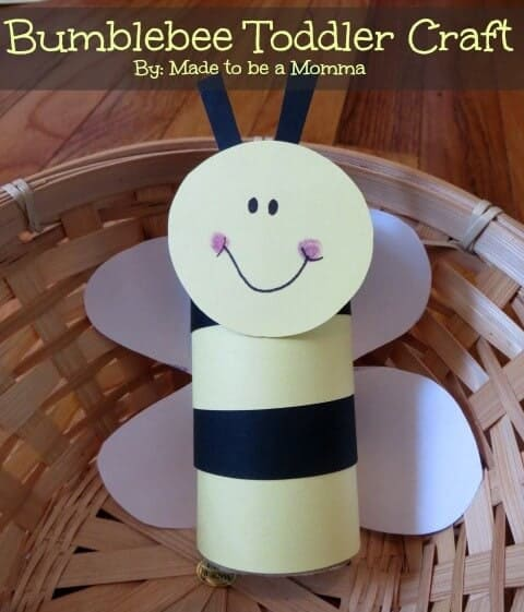 bumblee toddler crafts