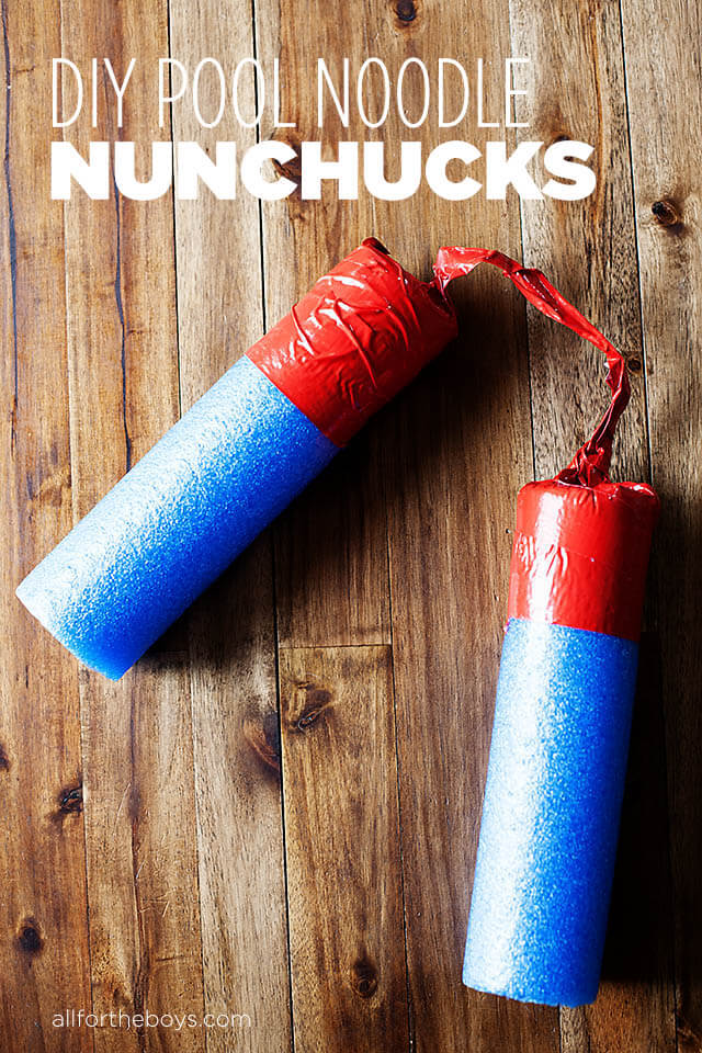 diy pool noodle craft