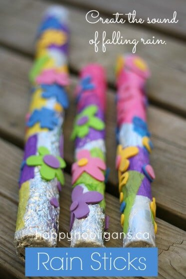 rain sticks for kids