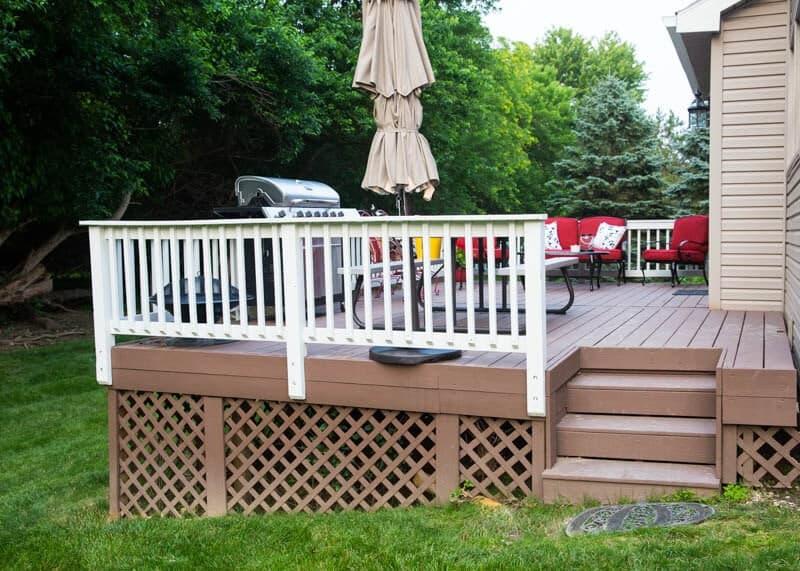 deck makeover on iheartnaptime.net