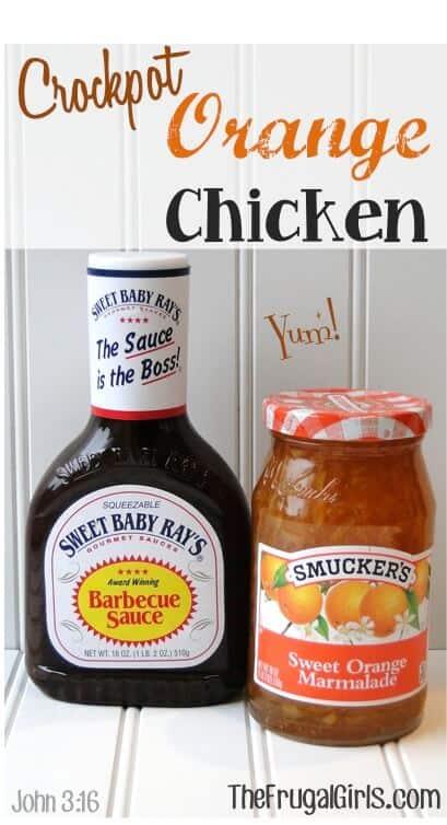 Crockpot Orange Chicken Recipe