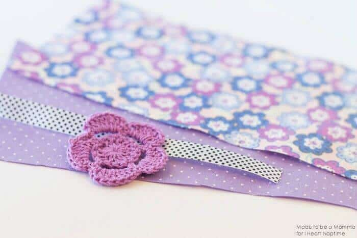 Fabric Bookmark Supplies on iheartnaptime.com
