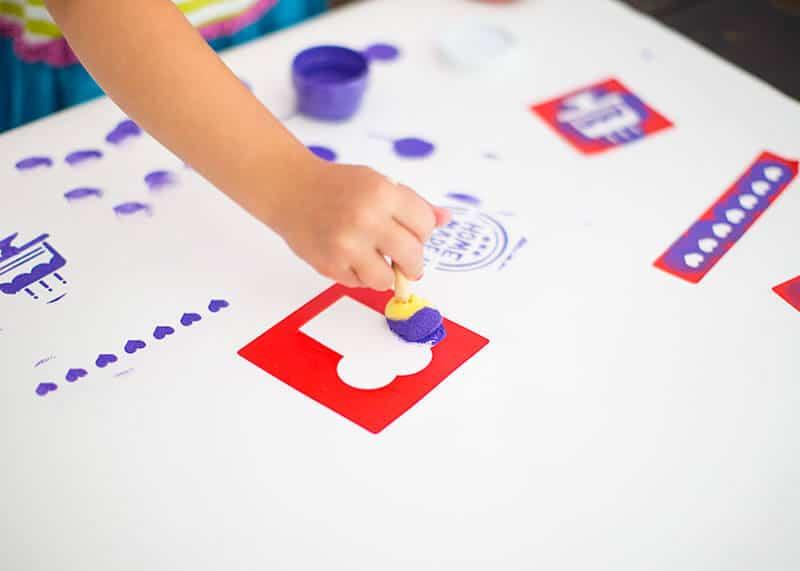 DIY kids apron - cute and easy - on i heartnaptime.com