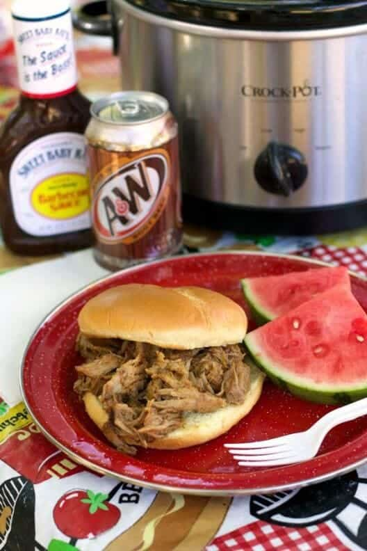 Rootbeer Pulled Pork