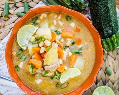 Curry Chicken Chowder