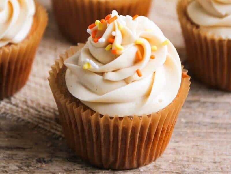 Pumpkin E Cupcakes