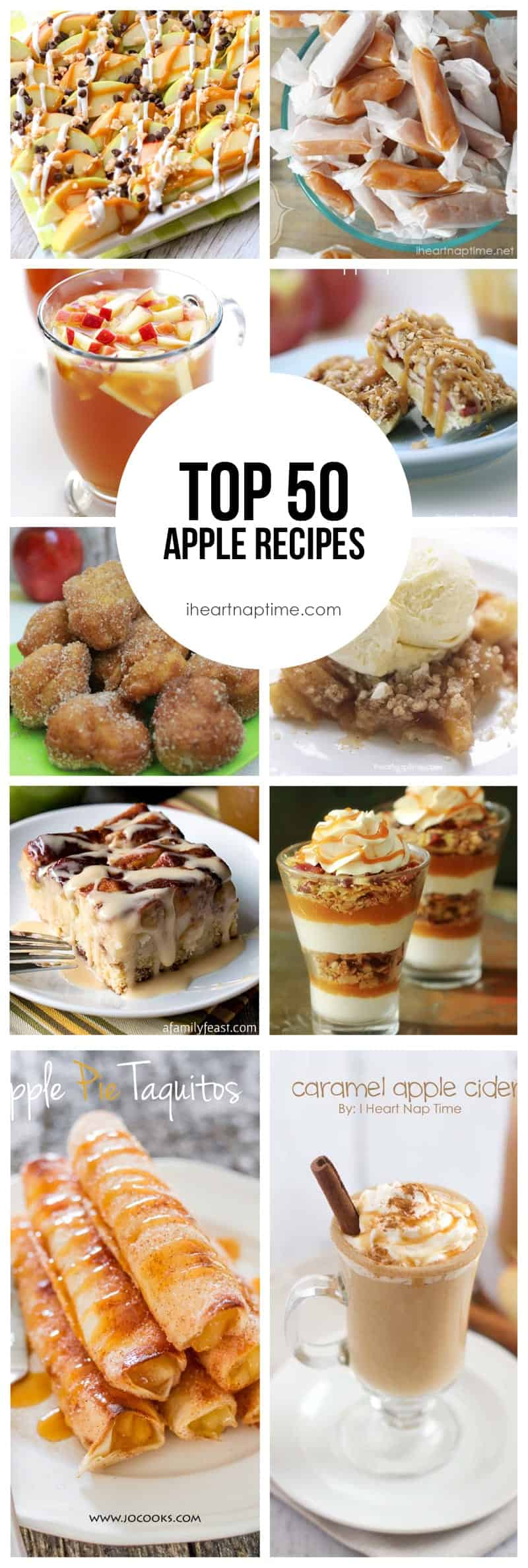 Top 50 Apple Recipes