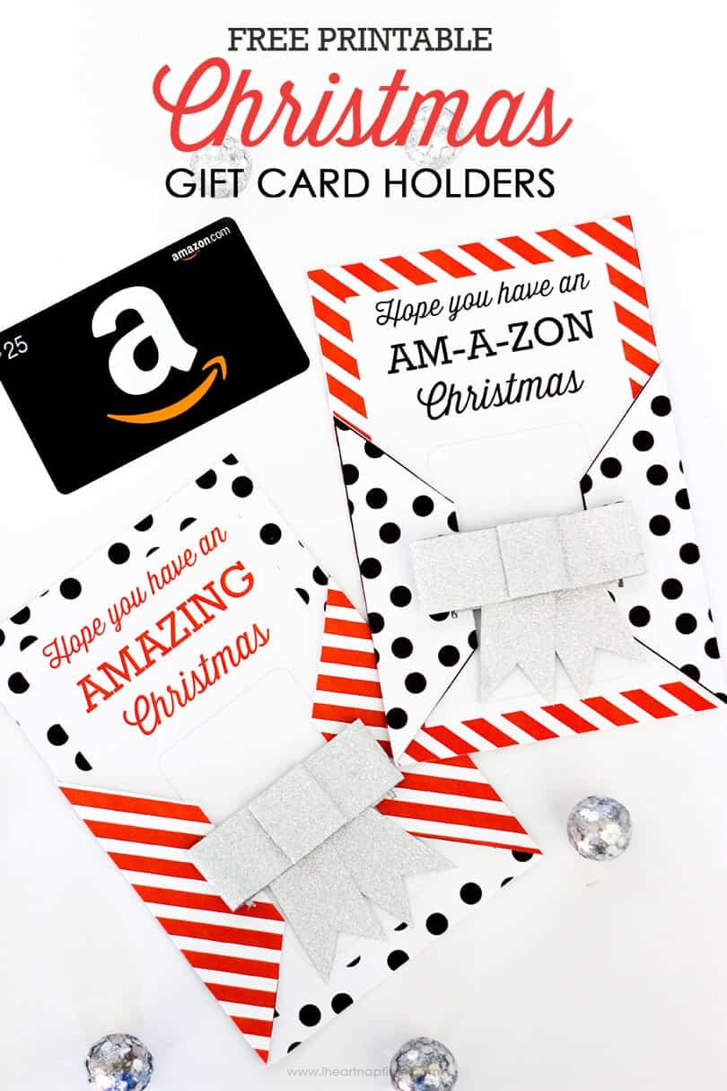 printable christmas gift card holders i heart nap time printable christmas gift card holders the gift you know everyone really wants
