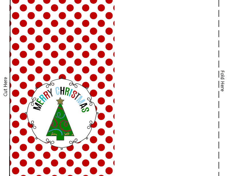 Printable Christmas Treat Bags - easy to make, adorable little bags to fill with goodies, gift cards, CDs, or DVDs!
