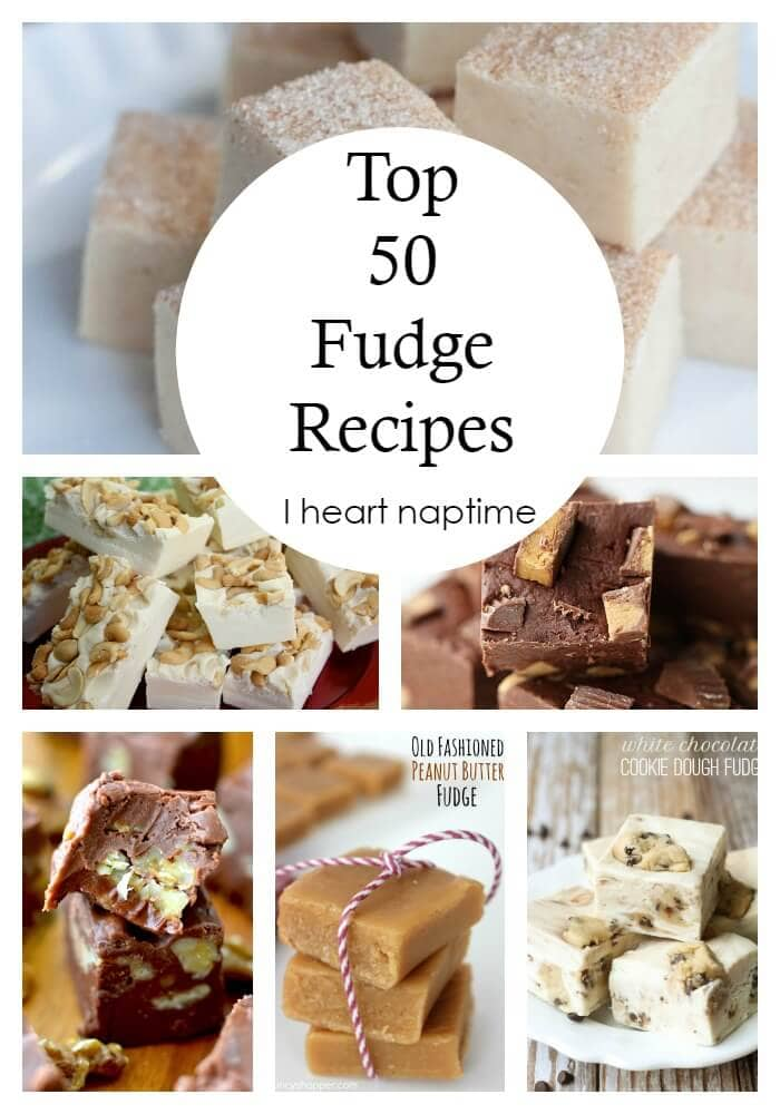 Top 50 Fudge Recipes - a collection of THE BEST fudge recipes around!