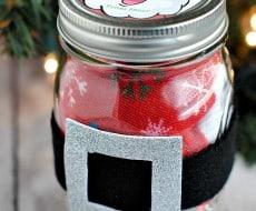 Santa Jar Gift Idea