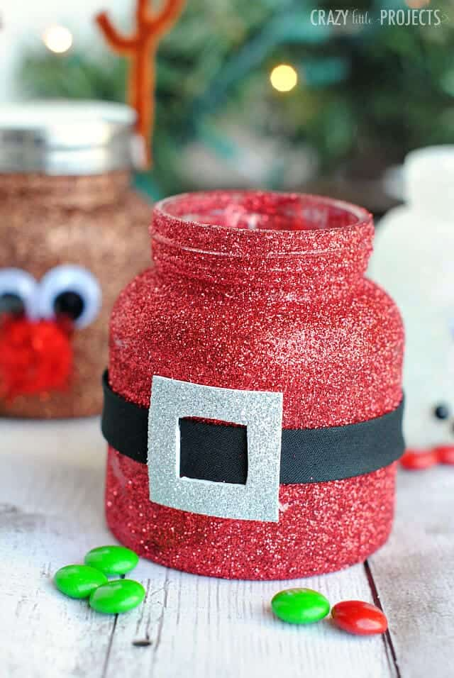 Christmas Treat Jars - I Heart Nap Time