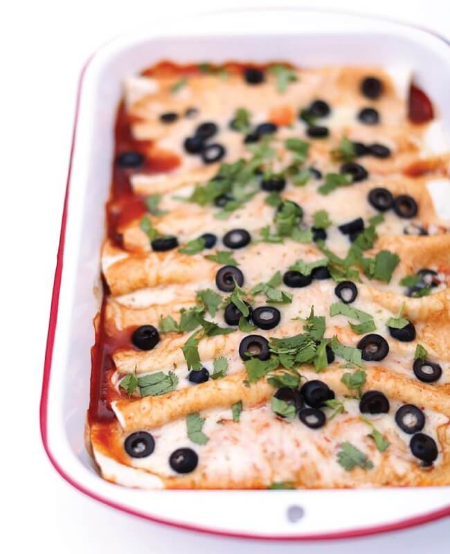 Beef Enchiladas from I Heart Naptime