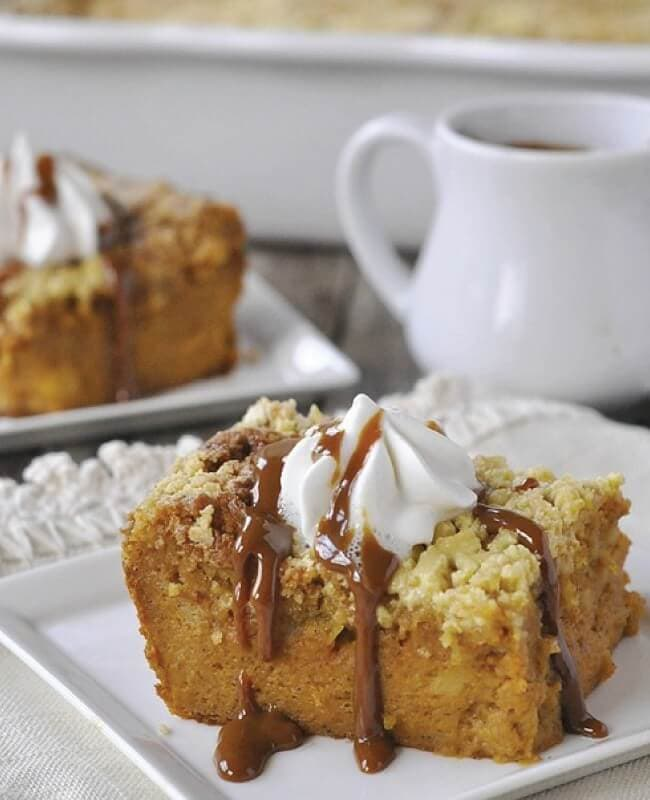 Pumpkin Pie Cake from Your Homebased Mom