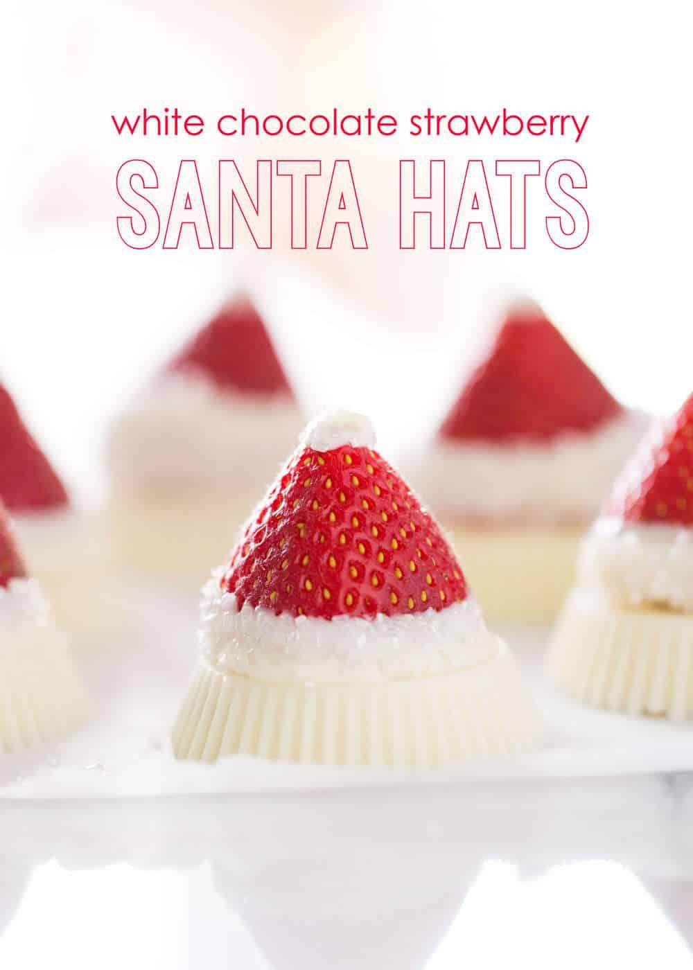 reese\'s santa hat close up