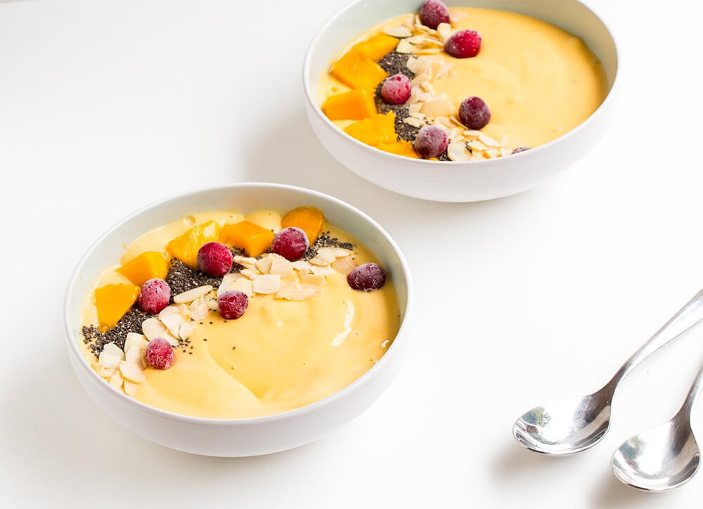 Easy mango smoothie recipe