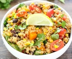 Southwest Quinoa Salad 2
