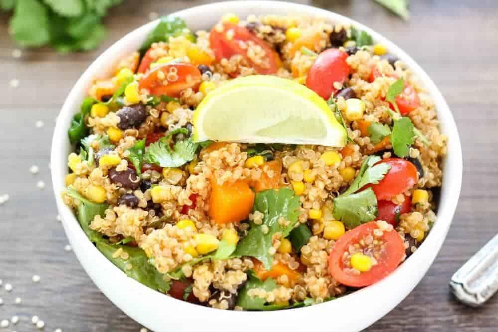 Southwest Quinoa Salad 2