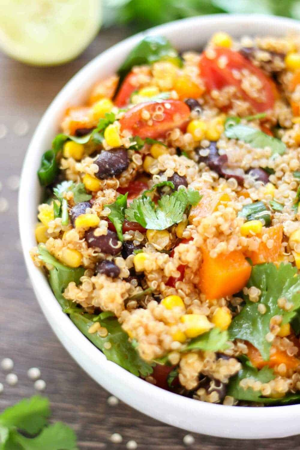 Southwest quinoa salad i heart nap time southwest quinoa salad delicious as a flavorful side dish or hearty main meal made forumfinder Image collections