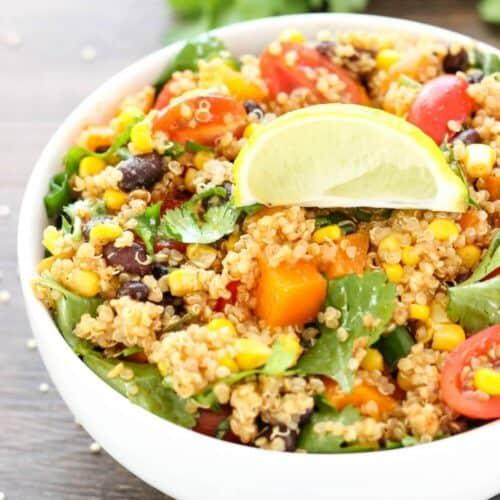 Southwest Quinoa Salad I Heart Nap Time