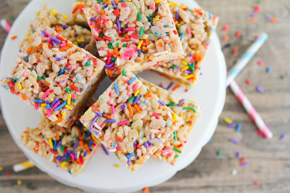 Image Result For Cake Batter Rice Krispies White Chocolate