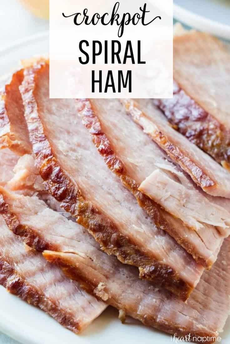 crockpot spiral ham