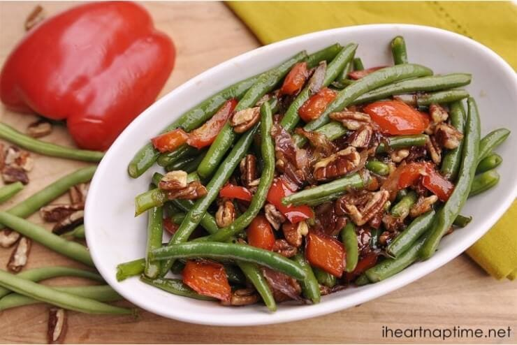 Green Beans | Top 50 St. Patrick's Day Green Food - have fun with St. Patrick's Day and surprise your family and friends with these fun, festive green recipes!
