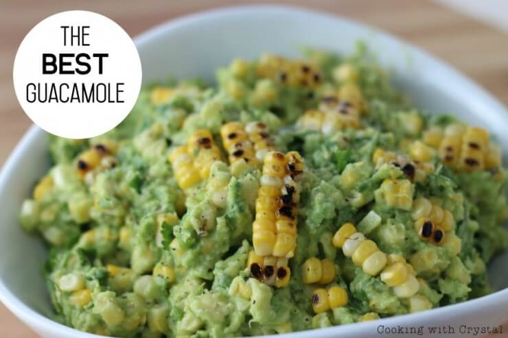 The Best Guacamole | Top 50 St. Patrick's Day Green Food - have fun with St. Patrick's Day and surprise your family and friends with these fun, festive green recipes!