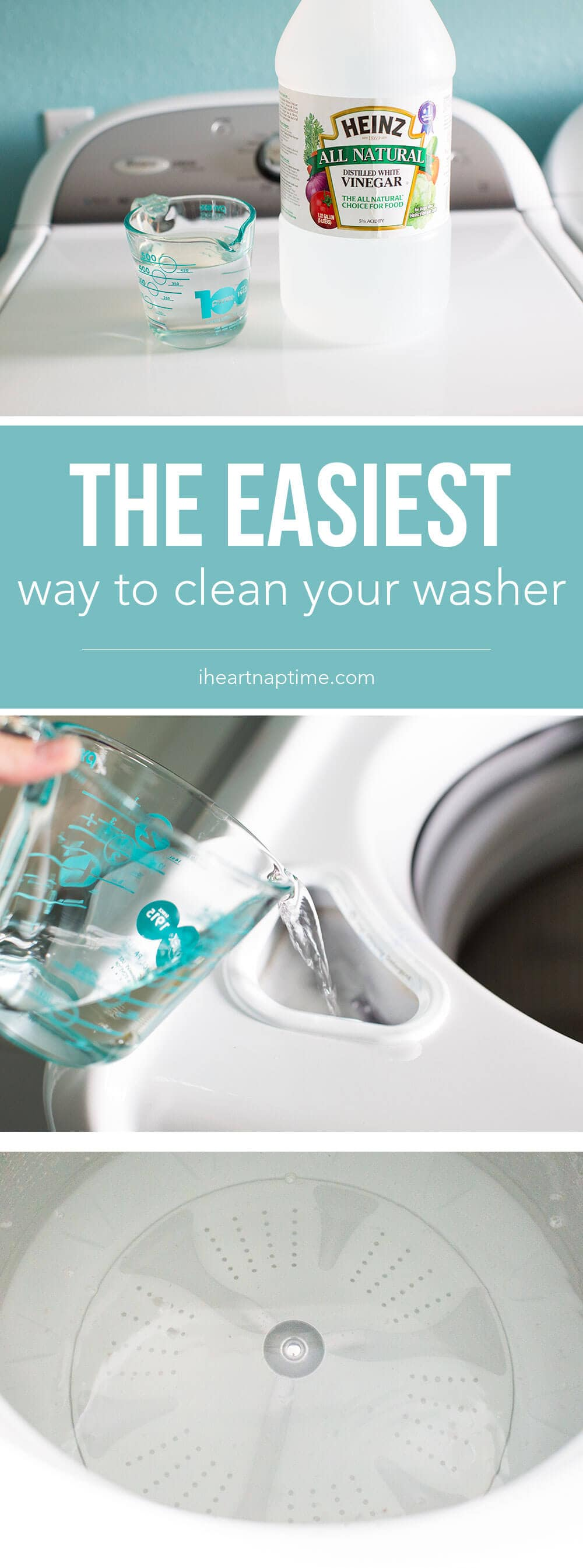 The Easiest Way to Clean Your Washer - I Heart Nap Time