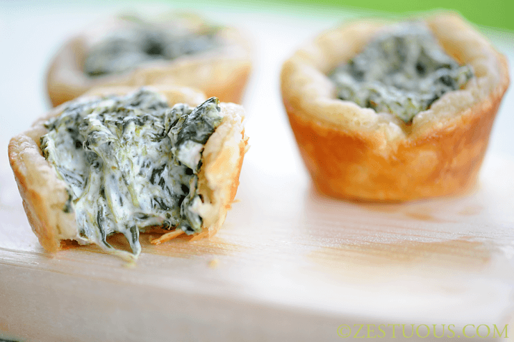 Spinach cups | Top 50 St. Patrick's Day Green Food - have fun with St. Patrick's Day and surprise your family and friends with these fun, festive green recipes!