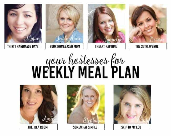 Weekly Menu Plan #14 -  we have another excellent menu ready to go to make your Valentine's week go smoothly and allow you to focus on your loved ones.