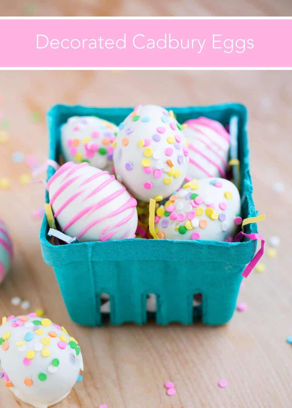 Decorated Cadbury Eggs