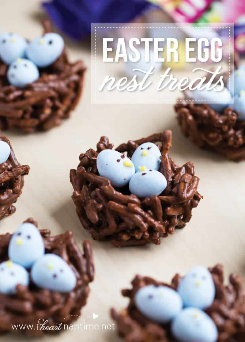 Chocolate Egg Nest Treats