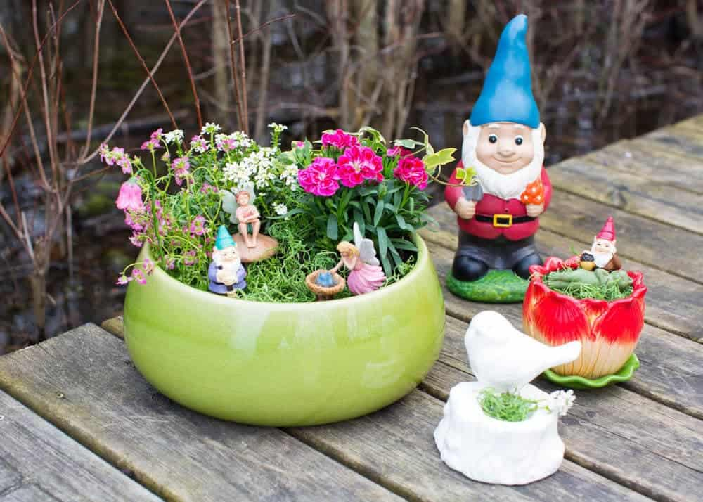 DIY Planter Fairy Garden I Heart Nap Time