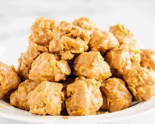 No bake cornflake cookies