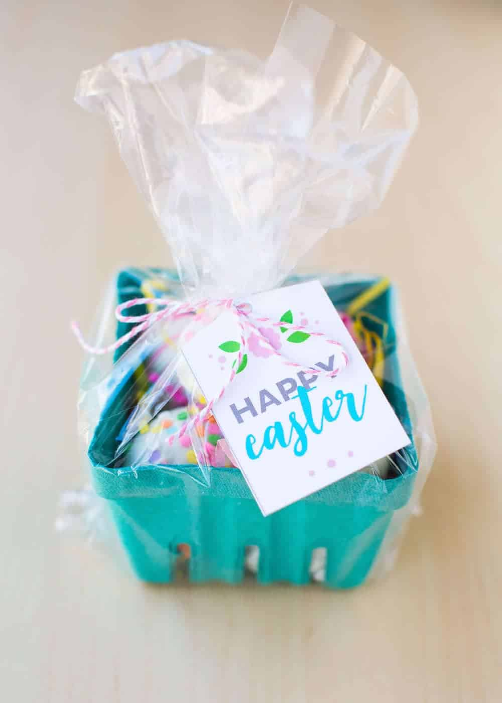 Decorated Cadbury Eggs Easter gift idea