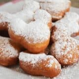 Mickey Mouse Beignets - these adorable beignets are simple to make and addictingly delicious. A fun way to enjoy a tasty Disneyland treat at home!
