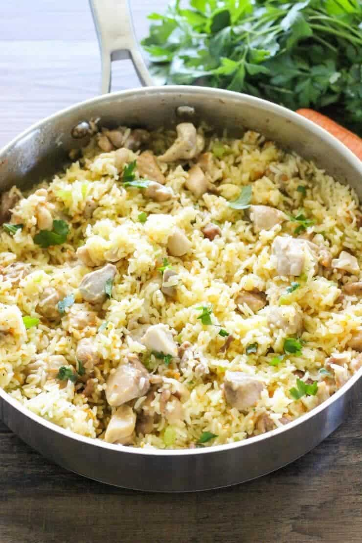 Best of 2016... April: Creamy One Pot Chicken and Rice