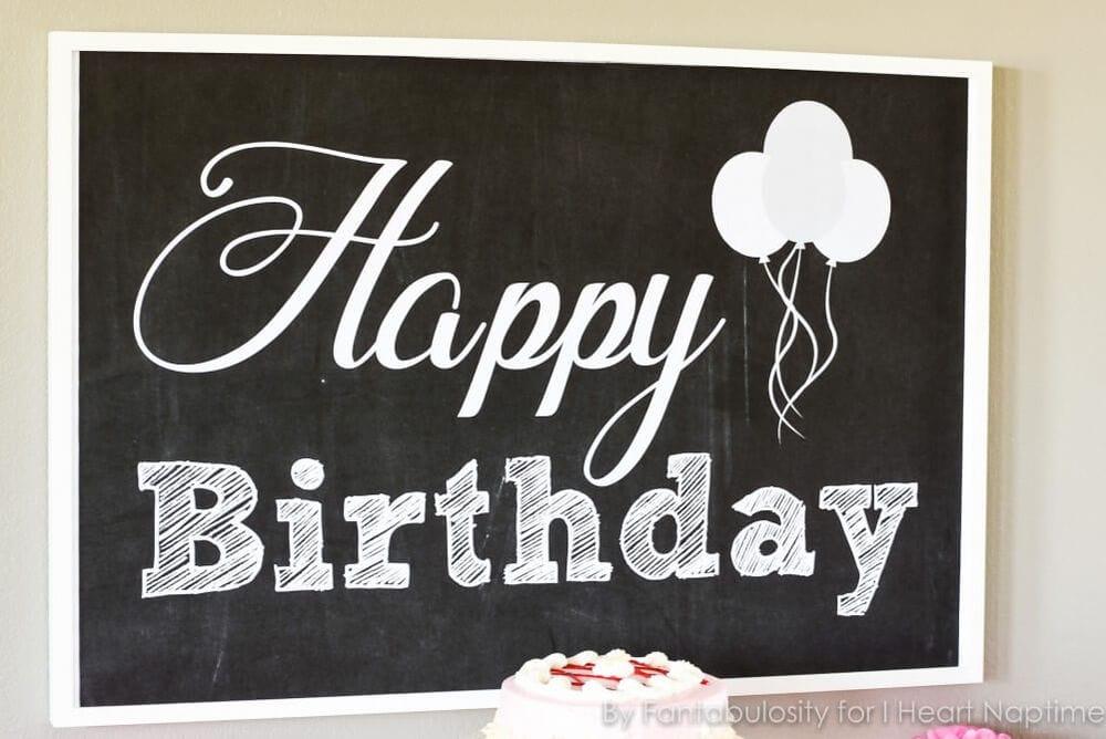 Free Birthday Printables Boy ~ Free happy birthday backdrop i heart nap time